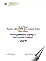 http://blog.tenablesecurity.com/2009/06/tenable-and-sans-consensus-audit-guidelines-cag.html