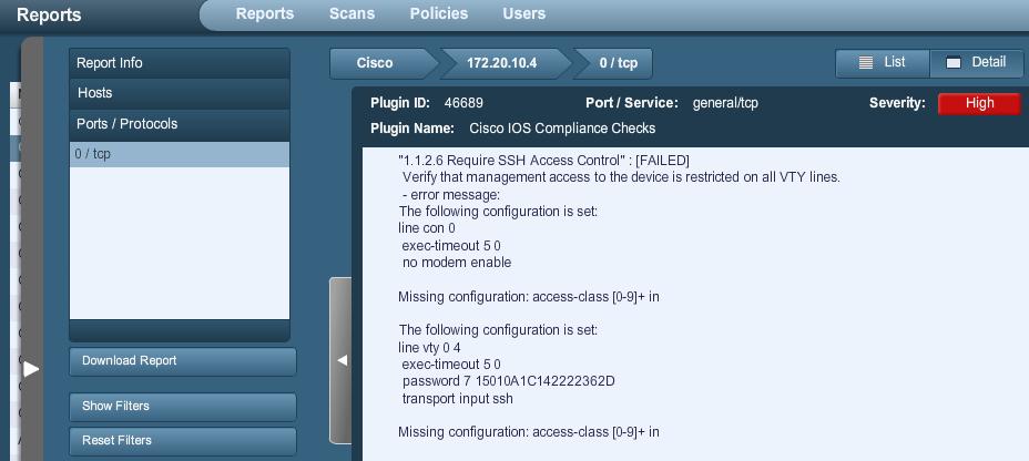 Nessus Cisco Compliance Checks - Blog | Tenable®